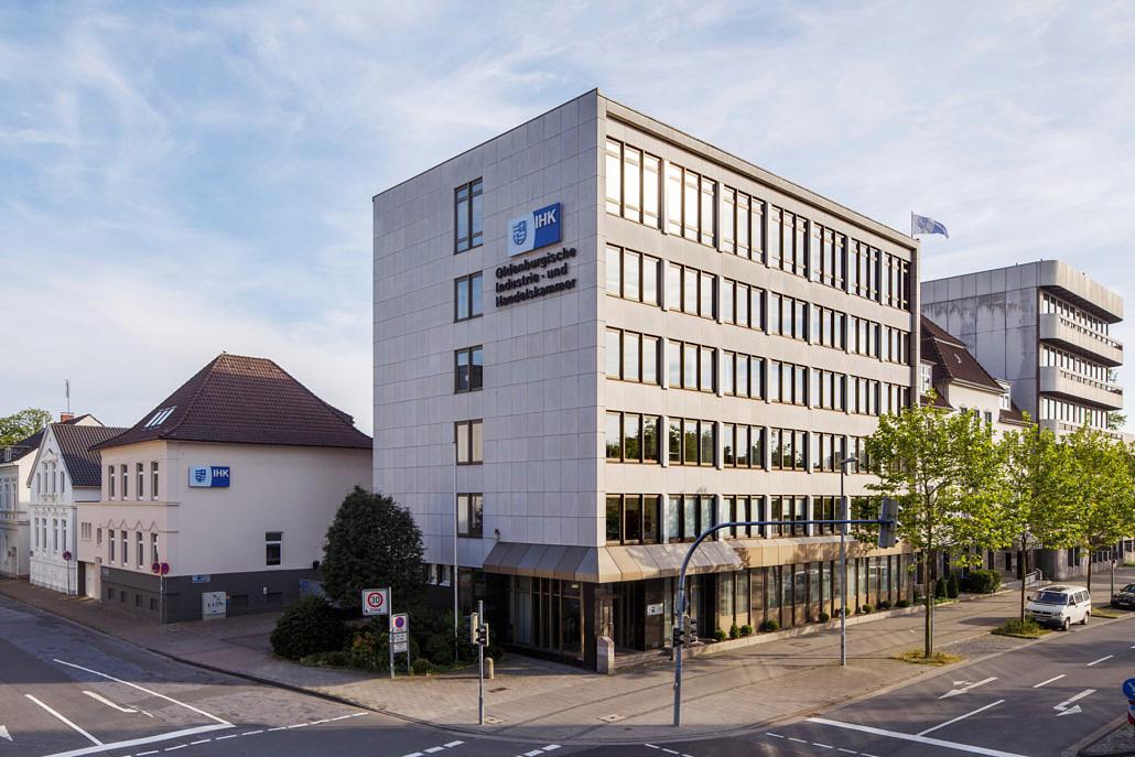 Aussenansicht Oldenburgische Industrie- und Handelskammer Oldenburg IHK