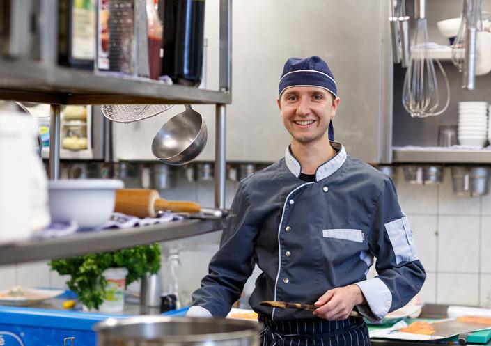Mitarbeiter-Portrait Koch