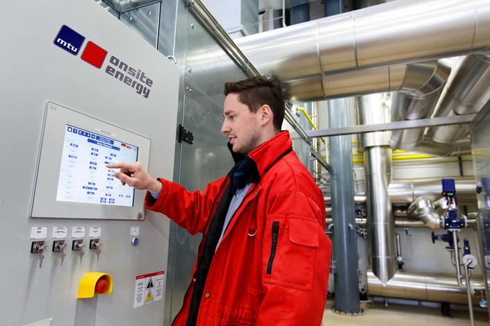 Blockheizkraftwerk mtu onsite energy