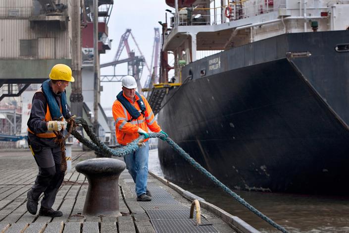 Businessfotografie Hafenanlagen Brake