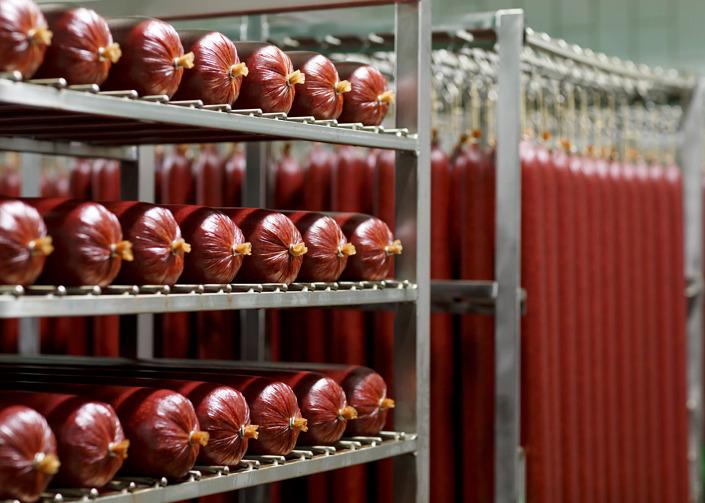 Wurstproduktion Wurstwaren Ernährungswirtschaft Oldenburger Münsterland