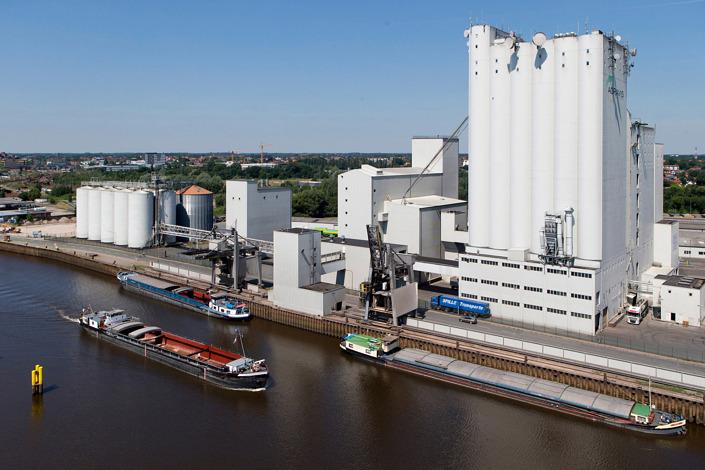 Businessfotografie Oldenburg Hafen Oldenburg Agravis Silo