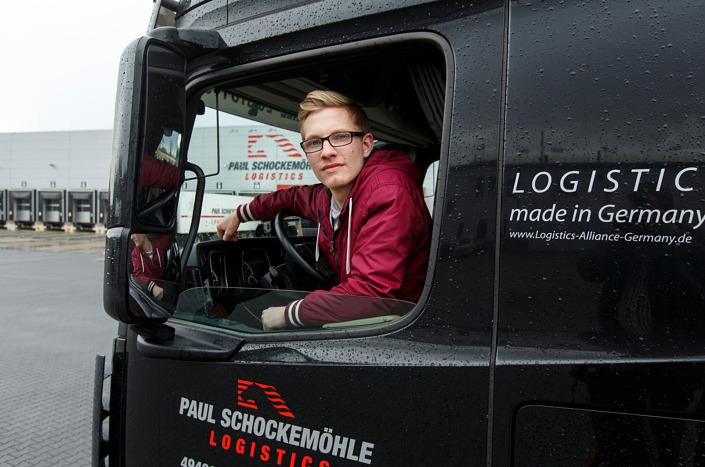 Mitarbeiter-Portrait Berufskraftfahrer