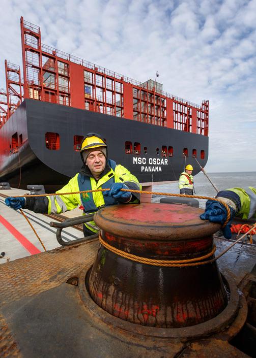 Fotograf für Businessfotografie Jade-Weser-Port Wilhelmshaven