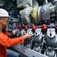 MTU Blockheizkraftwerk im Kernkraftwerk Unterweser