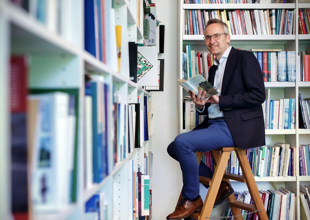 Business-Portrait Verleger Oldenburg