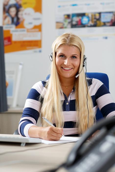 Mitarbeiter-Portrait Kauffrau für Büromanagement